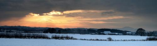 Howard Broadbent View Towards the Wrekin