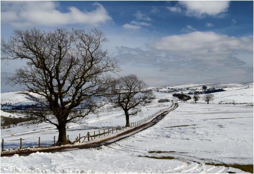 Jim Shaw Stiperstones in Winter