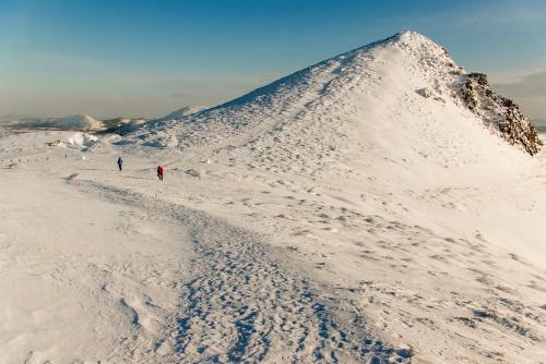 Mike Padden Long Mynd in winter