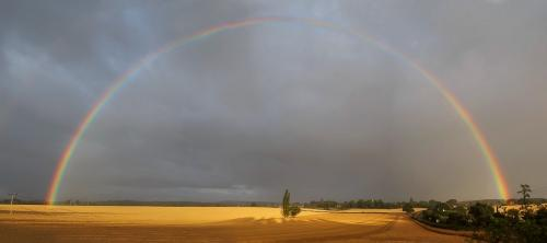 Mike Padden Morning rainbow