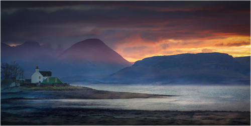 1 Winner Sunset Over Applecross by Sarah Hollinshead-Bland