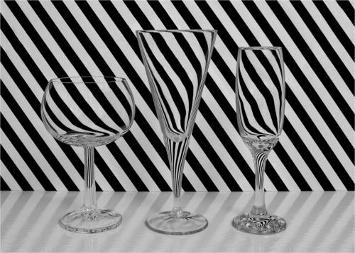 03 3rd Place Adv Three Glasses by Alan Gripton