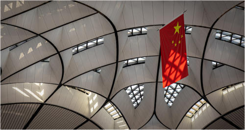 05 5th Place Adv Beijing Airport Roof by Howard Broadbent