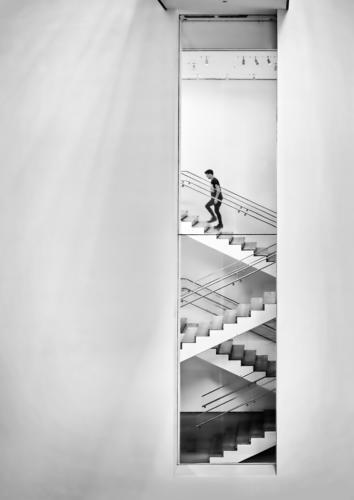06 6th Place Adv One Step at a Time by Edward Kosinski