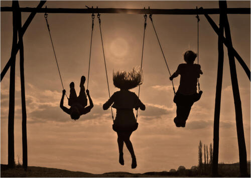 09 C Swinging Away by Maria Macklin