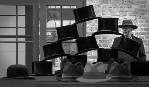 10 C Top Hats and Trilbies by Maria Macklin