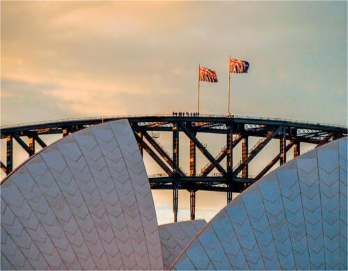 08 HC Sydney Skyline at Sunset by Colin Macklin