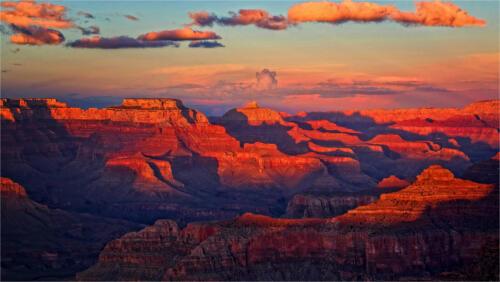 07  Adv C Grand Canyon Sunset by Edward Kosinski