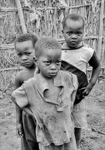 01. First Place. Three Malawian Boys With Attitude by Janet Richardson