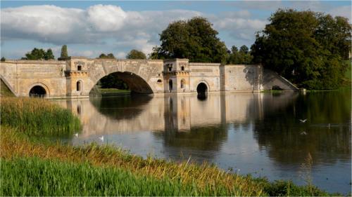 07 C Advanced Print Bridge over the River Glyme by Alan Gripton