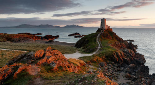 03 Third Place Advanced Print Llandwyn at Sunset by Andy Brooks