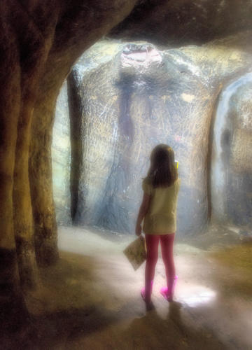 01 Advanced 1st place Chasm of Light in the Caves by Fran Hartshorne