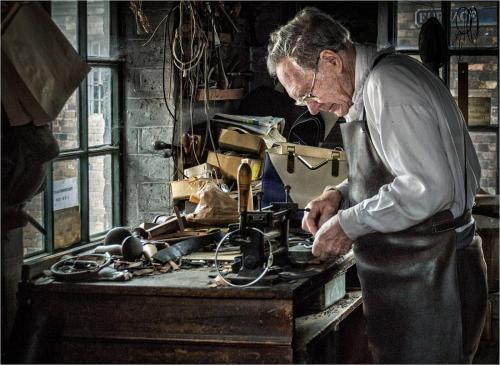 Old Workshop by Bob Colman