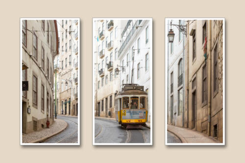 Lisbon Street Tram by Edward Kosinski.
