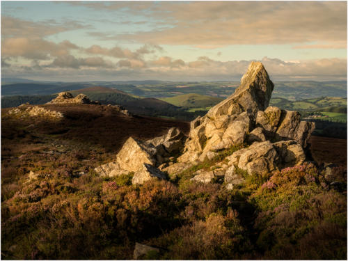 First Light on the Stiperstones
