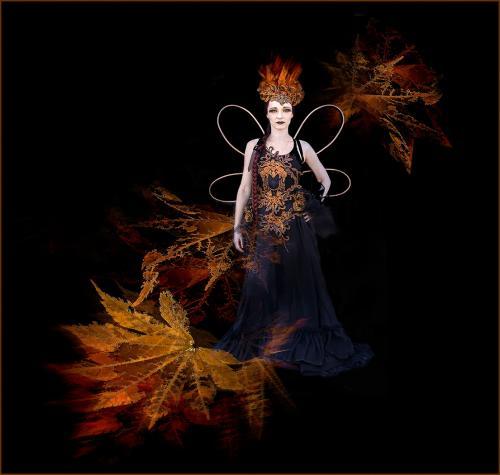 02 The Fairy Queen of Autumn; Fran Hartshorne