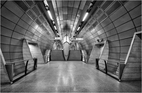 Southwark Tube Station; Howard Broadbent