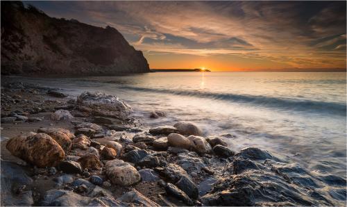 Sun Kissed Rocks; Mike Norton